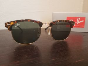 Ray ban sunglasses clubmaster tortoise for Sale in Los Angeles, CA