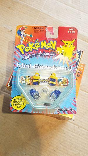 Pokemon mini snowboard for Sale in Selma, CA