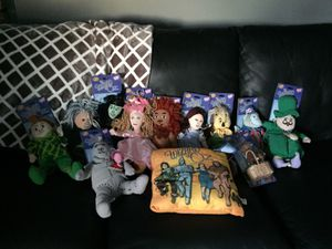 Wizard of Oz Plush n Pillow Collection for Sale in Madison Heights, MI