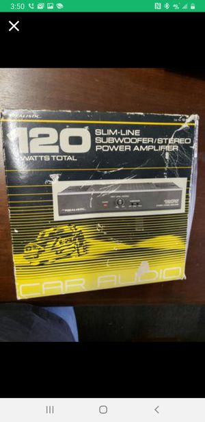 Realistic Slimline Subwoofer Power Amplifier for Sale in Tacoma, WA