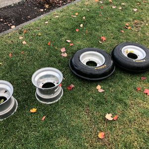Douglas Wheels And Front Tires for Sale in Vancouver, WA