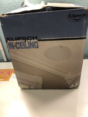 Klipsch synergy home in celling for Sale in San Diego, CA