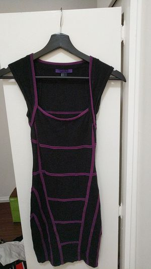 Purple and black Forever 21 Dress Cap Sleeves - Size Small for Sale in Hawthorne, CA