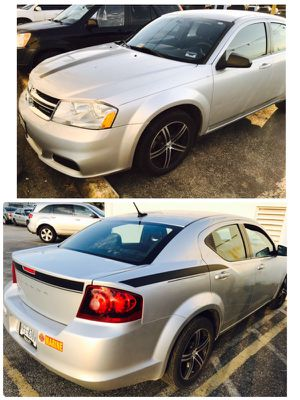 2012 Dodge Avenger(Great Condition) for Sale in Houston, TX
