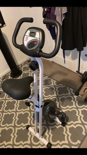 Marcy foldable workout bike for Sale in Danville, CA