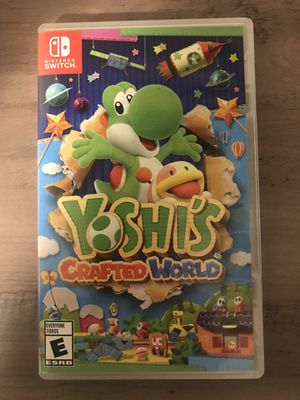Nintendo Switch Game - Yoshi's Crafted World for Sale in Bend, OR