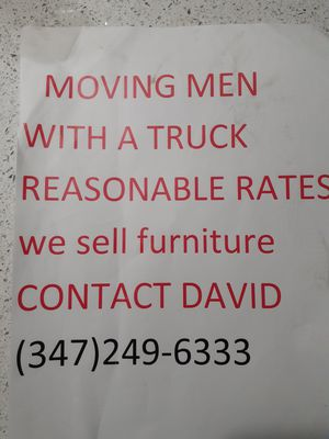 Moving for Sale in New York, NY