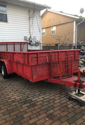 Open top trailer 14 L x 7 W for Sale in Bartlett, IL
