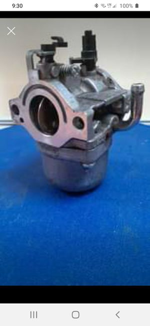 Carburetor for Briggs & Stratton Generator for Sale in South Windsor, CT