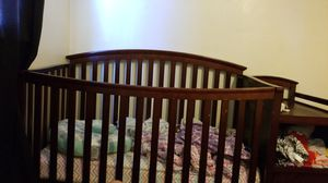 Crib with changing table for Sale in Norfolk, VA