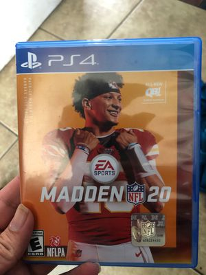 Madden 20 for Sale in Los Angeles, CA