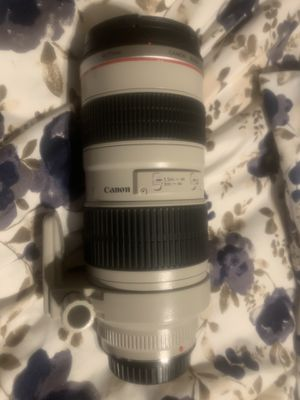 Canon 70-200 1:2.8 EF lens for Sale in Dinuba, CA