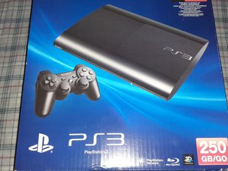 PS3 Superslim 250GB 12 Game Bundle for Sale in Pasadena,  CA