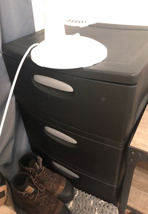 Large plastic dresser drawers for Sale in Salt Lake City, UT