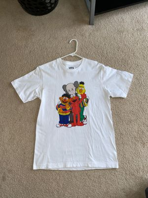 KAWS x Uniqlo x Sesame Street Group T-Shirt for Sale in Centreville, VA