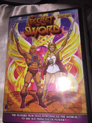 HE MAN the secret of the sword dvd for Sale in Tampa, FL