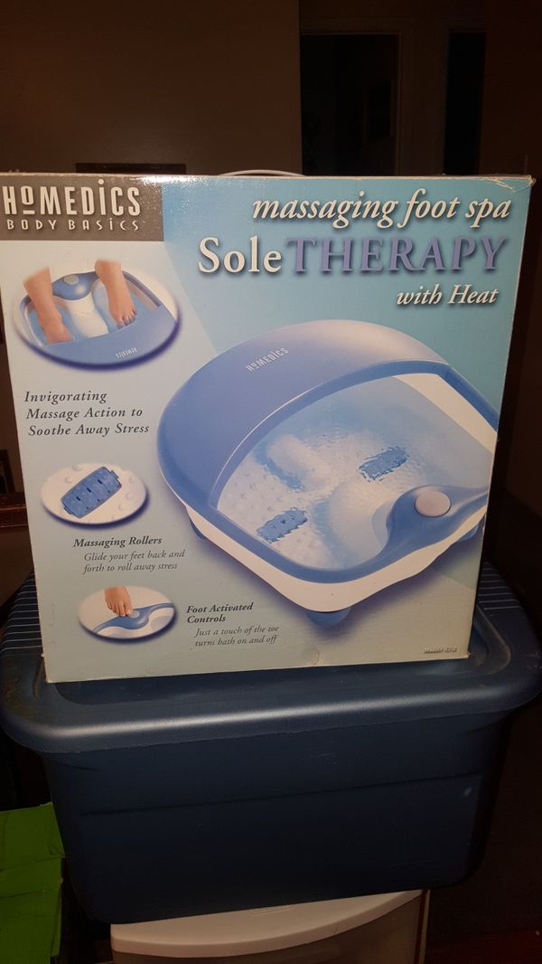Homedics Foot Spa