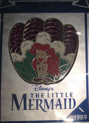 NEW Disney The Little Mermaid Ariel Pin BRAND NEW FACTORY SEALED Authentic Disney Kids Children's Family Movie Film Pin for Sale in Phoenix, AZ