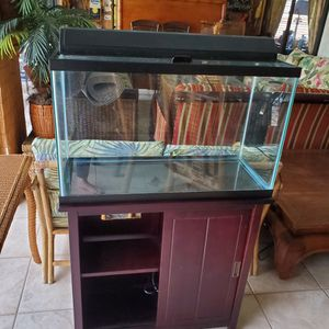 Fish Tank With Stand for Sale in Cape Coral, FL