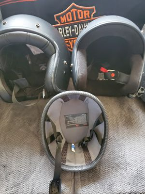 3 motorcycle helmets for Sale in Fresno, CA