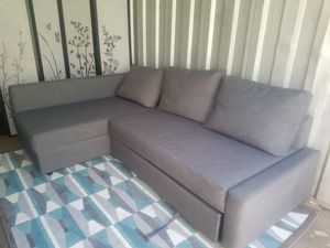 Sectional sleeper sofa with area rug for Sale in Kensington, MD