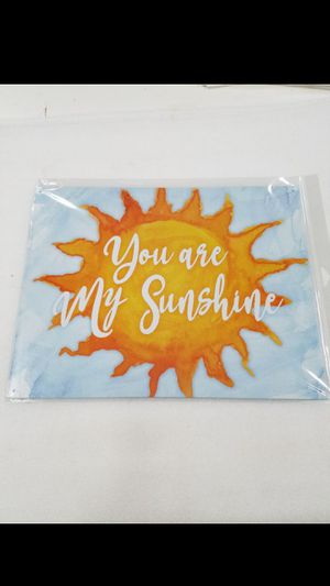 You are my sunshine inspirational metal sign for Sale in Vancouver, WA