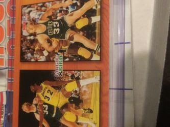 1994 NBA HOOPS MAGIC VERSUS BIRD CARD for Sale in Las Vegas,  NV