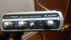 M-audio fast track pro for Sale in Atlanta, GA