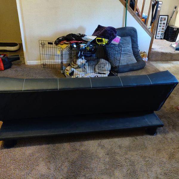 Leather Futon, for bedroom, kids room, game room, or guest room