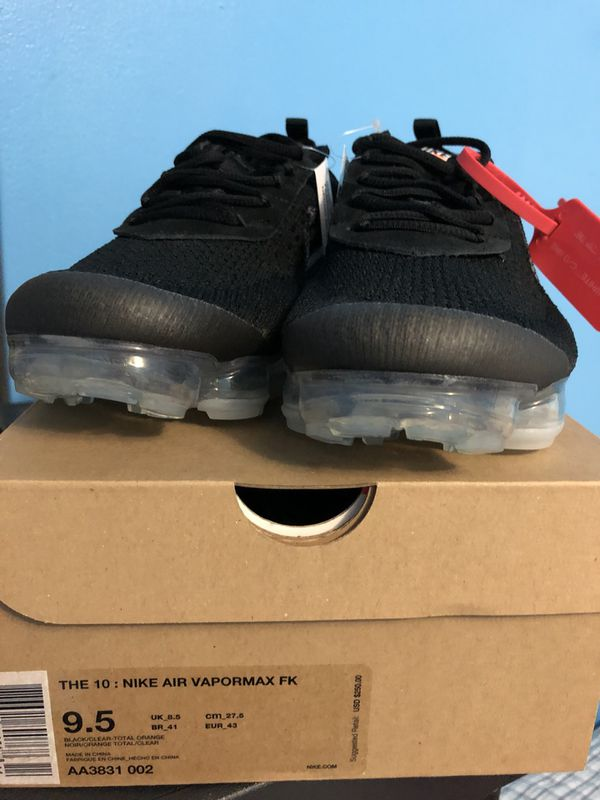 b9a8c19f6a Nike Off white Vapormax for Sale in Hialeah, FL - OfferUp