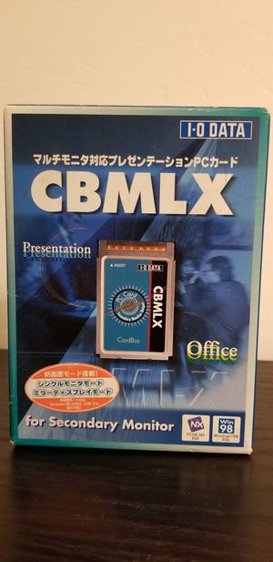 CBMLX Dual Monitor PC Cardbus for laptops for Sale in San Jose, CA