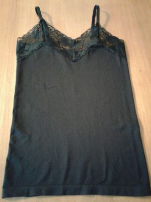 BLACK CAMISOLE size Medium for Sale in Manteca, CA