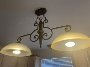Kitchen island light fixture for Sale in White Lake charter Township, MI