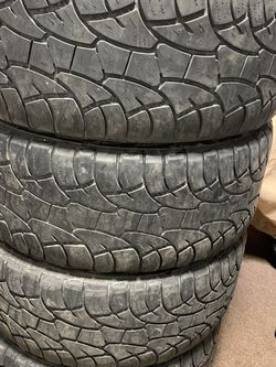 LT305/55R20 Set Of 4 Tires About 60% Thread for Sale in Eastpointe,  MI