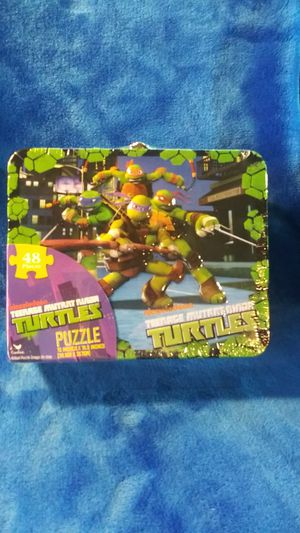 Nickoloden Teenage Mutant Ninja Turtles Puzze for Sale in Columbia, MO
