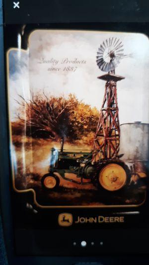 John Deere Tractor Windmill tray for Sale in Folsom, CA