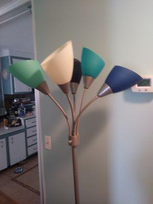 Floor lamp beachy colors for Sale in Largo, FL
