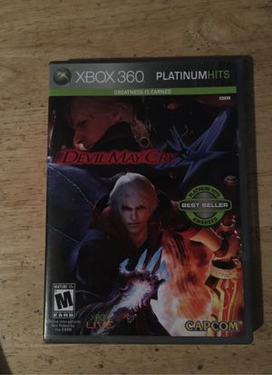 Devil may cry 4 Xbox 360 video game for Sale in Slidell, LA