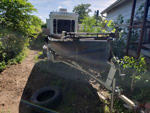 14ft v Hull Heavy Duty Fishing Boat for Sale in Wichita, KS