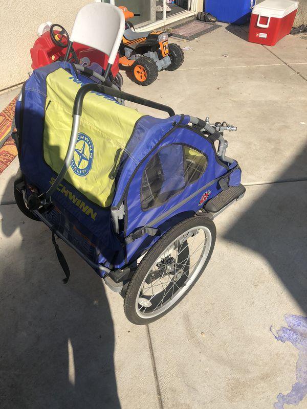 Kids 2 seat bike trailer