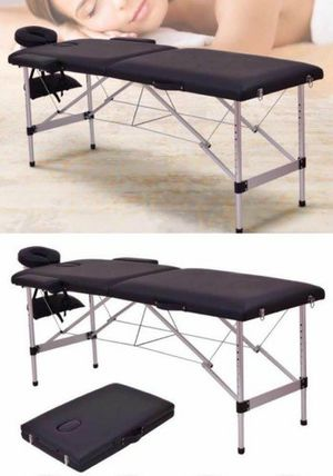 """New 72"""" Foldable Portable Massage Table Facial Spa Tattoo Bed 500lbs Capacity for Sale in Whittier, CA"""