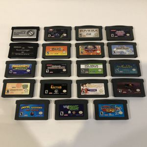 Game Boy Advance Collection for Sale in Concord, CA