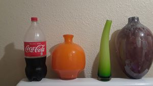 Glass vases for flowers for Sale in Vernon, CA