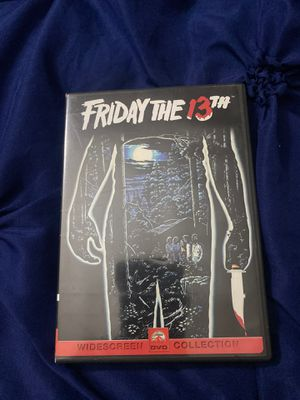 Friday The 13th DVD collection from 1980 for Sale in Brooklyn, NY
