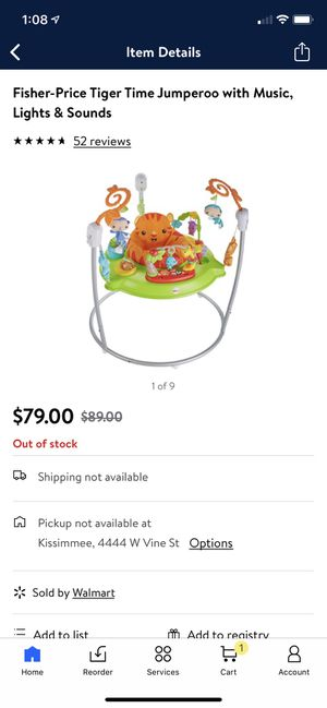 Fisher-price jumperoo for Sale in Kissimmee, FL
