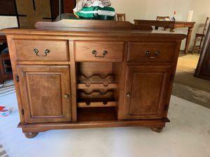 Wine Hutch/Cabinet for Sale in Clovis, CA