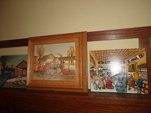 Railroad theme pics (3) for Sale in Downers Grove, IL