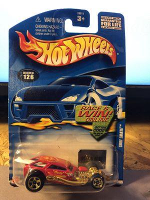 Hot Wheels #126 2002 Surf Crate, Race & Win,gold 5 spoke for Sale in Fresno, CA