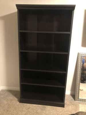 Espresso Bookshelf for Sale in Laguna Niguel, CA
