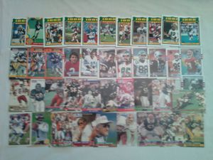1980's 1990's NFL 42 Trading Cards Great Condition All For $15 for Sale in Reedley, CA